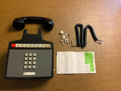 Vintage Western Electric Wall 10 Button Telephone 2852 Multiple 9 Lines & Hold