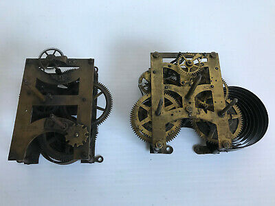 Two vintage American Clock Movements (3)