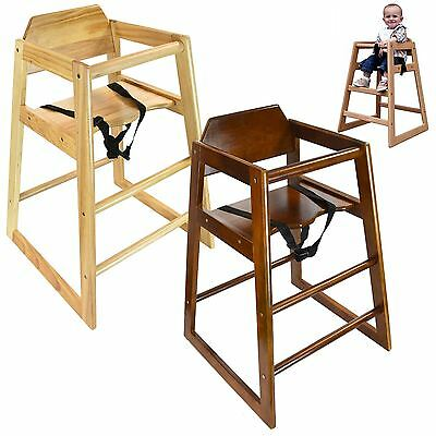 Baby Feeding High Chairs Solid Wooden High Chair Toddler Child's Table