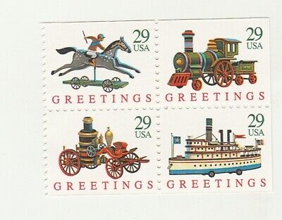Scott # 2715 - 2718  ( 2718A )  US Christmas  M/NH  O/G  4 STAMP Booklet