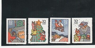 Scott # 3113 - 3116  US Christmas  M/NH  O/G  4 STAMPS BOOKLET