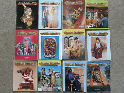Chip Chats National  Wood Carvers Association Magazines 12 Issues, 1993 & 1994
