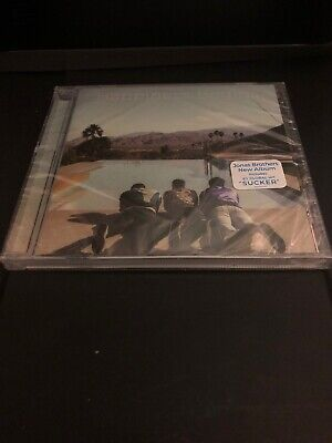 JONAS BROTHERS Happiness Begins BRAND NEW Sealed Original CD cracked Case Sucker