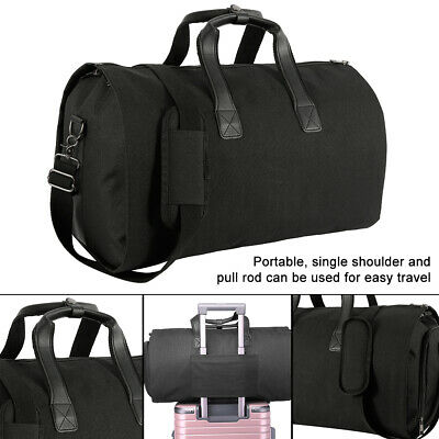 Oxford cloth Duffle Garment Storage Travel Carrier Bag Cover with Shoulder Strap