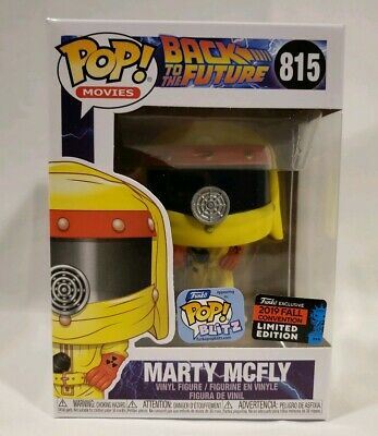 Funko POP Movies Marty Mcfly #815 Back To Future Official Sticker New