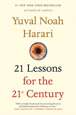 Harari Yuval Noah-21 Lessons For The 21St Centur BOOK NEW
