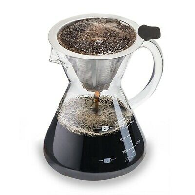 Coffee Maker 'Pour Over' (Medium, Standard) - Coffee pot with permanen