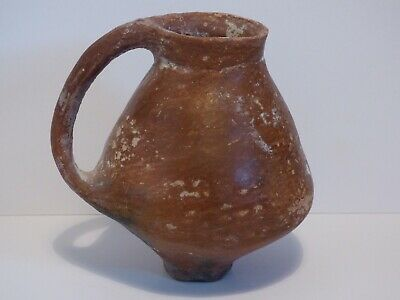 HOLY LAND TERRACOTTA CUP c. 2250 BC. Rare Form