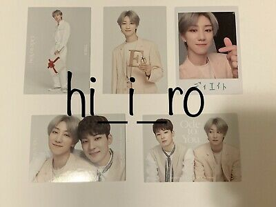 SEVENTEEN Trading card WORLD TOUR ODE TO YOU IN JAPAN - THE8 (5 Cards)
