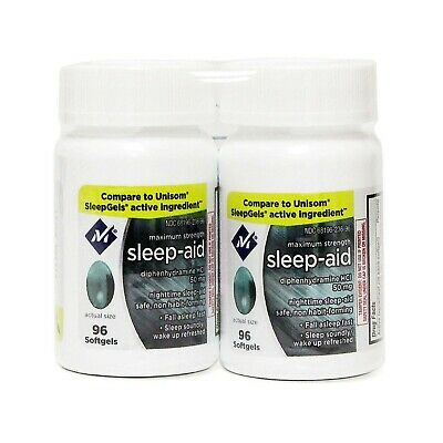Sleep Aid Softgels 192 Softgels (3 Pack) You can Even use Them