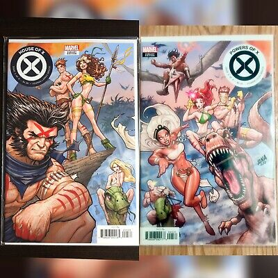 HOUSE OF X + POWERS OF X #5 Nakayama Connecting Variant SET LOT X-MEN UNREAD NM+