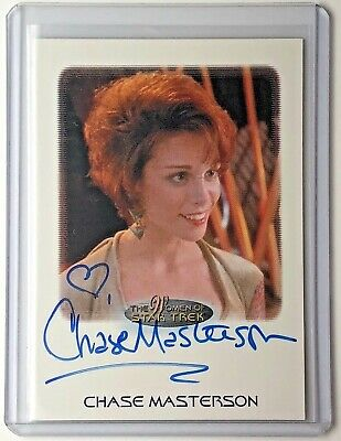 WOMEN of STAR TREK 2010 - Autograph Trading Card - CHASE MASTERSON as LEETA