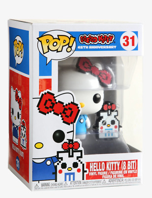 Funko Pop! Hello Kitty 45th Anniversary #31 Hello Kitty 8-Bit Collectible Figure