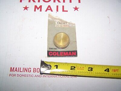 Coleman Lantern 220 228 200A Fuel Cap New Old Stock Mint In Package