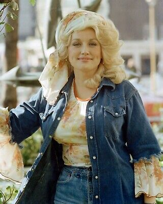 LOT of 2 TWO DOLLY PARTON COUNTRY MUSIC ARTIST PHOTOS 8 x 10