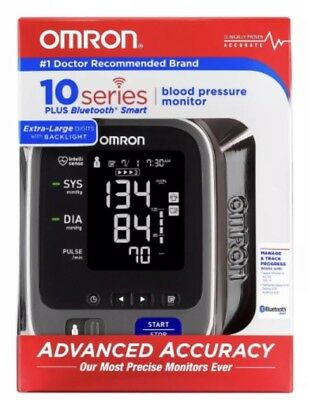 Omron 10+ Series™ Upper Arm Blood Pressure Monitor with Bluetooth + Backlight