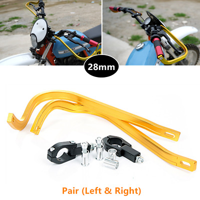 Refit Scooters Motorcycle 28MM Handlebar Brake Clutch Anti-fall Bow Guard Levers