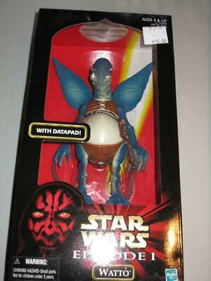 Star Wars Episode 1 Watto 12 inch Action Figure with Datapad 1998 New