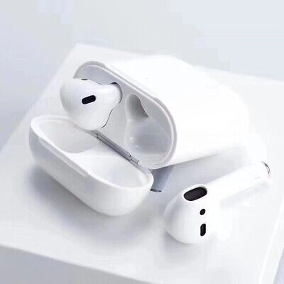 Apple AirPods with Wireless Charging Case In-Ear Headsets (2nd Gen) - White