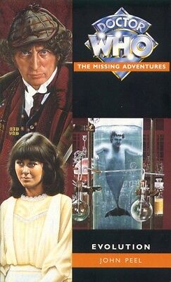 4th Dr Doctor Who Virgin Missing Adventures Book - EVOLUTION - (Mint New)
