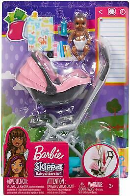 Barbie FXG95 Skipper Babysitters Inc Doll and Playset