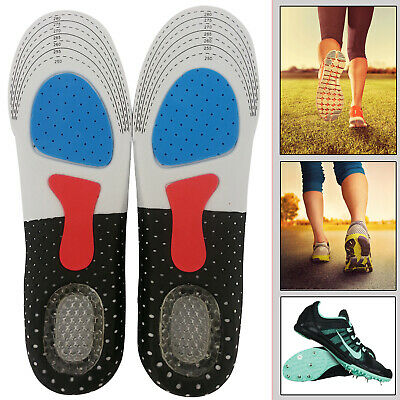 Unisex Orthotic Insoles For Arch Support Plantar Fasciitis Flat Back Heel Pain