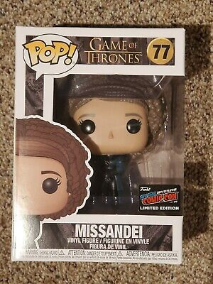 Funko Pop Missandei - 2019 NYCC Exclusive Sticker