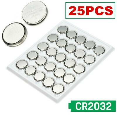 Lots 25pcs CR2032 CR 2032 3 Volt Button Cell Battery for Watch Toys Remote Kit