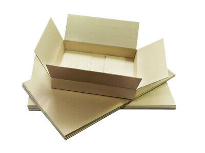STRONG DEEP Max Size Royal Mail Small Parcel Packet Postal Boxes 350x250x160mm