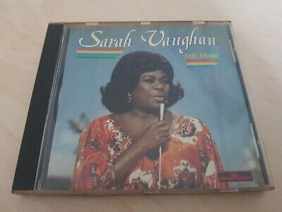 "Sarah Vaughan ""The Divine"" *Entertainers CD 225* 1987 French Import"