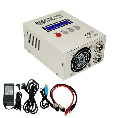 Lithium/lead Acid Battery Capacity Tester Charge 5A Dischage 20A Electronic Load