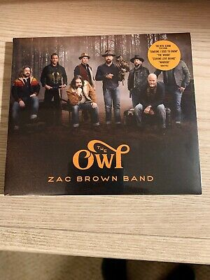 Zac Brown Band CD - The Owl (2019) - Brand New, Unopened - Country