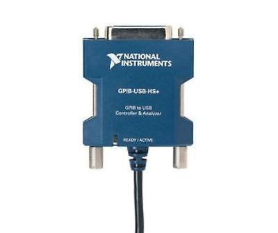 NEW - National Instruments NI GPIB-USB-HS+ Interface Controller / Analyzer