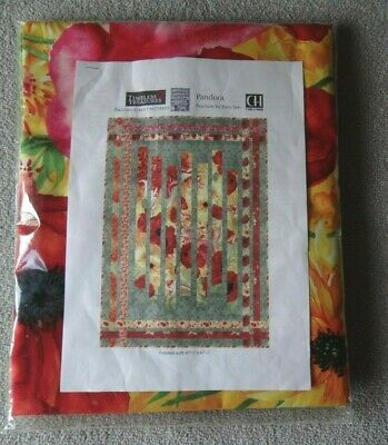 """Timeless Treasures – Quilt Kit by Pam See – Pandora Fracture  – 47.5"""" x 67.5"""""""