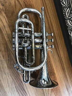 Boosey And & Hawkes Cornet Silver Plated Imperial Delivery Possible