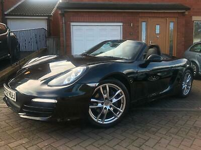 2012 Porsche Boxster 2.7 ( 265bhp ) 6 Speed Manual Black - Black Leather