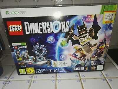 Lego Dimensions Game Xbox 360 Starter Pack 100% Complete