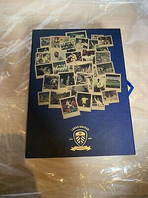Centenary Leeds United Limited Edition 100 Years Shirt and Book
