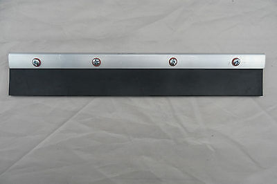 One 200Mm Black Long Rubber Solid Nitrile Squeegee Free Post