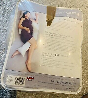 Dreamgenii Pregnancy Support & Feeding Pillow *GOOD CONDITION*