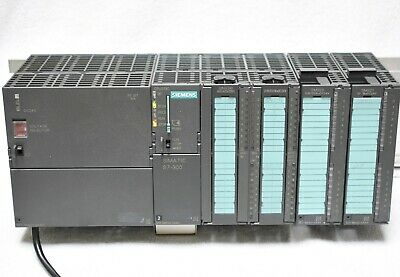 Siemens Simatic S7 300 CPU 313C DI DO AI AO Digital SPS PLC TIA Funktionsfähig