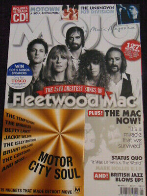 MOJO UK MAGAZINE +CD May 2019 Fleetwood Mac,Joy Division, Motown etc.  NEW