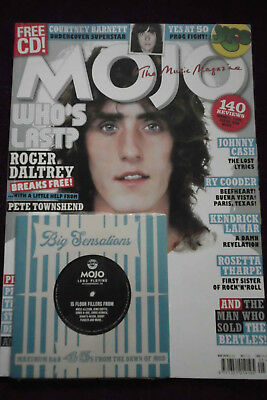 MOJO  UK MAGAZINE +CD  May 2018  Daltrey, Cash, Cooder  etc.