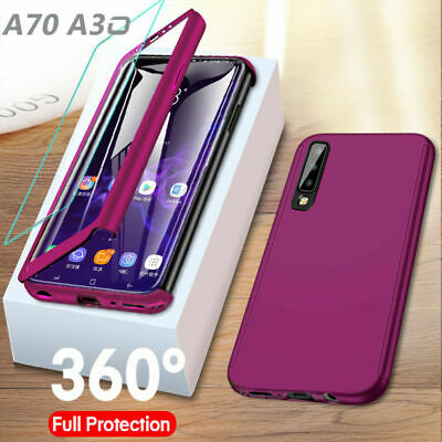 CASE For Samsung Galaxy A40 A50 A70 2019& Screen Protector Full Cover Protection
