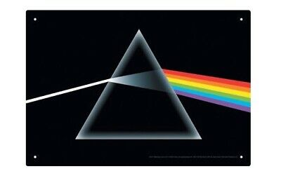 NMR: Retro Tin Sign - Pink Floyd (Dark Side Of The Moon)
