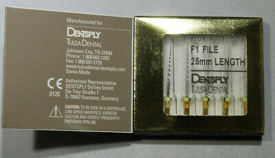 Dentsply Rotary ProTaper Universal Engine NiTi Files F1 25mm