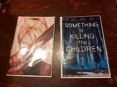 SOMETHING IS KILLING THE CHILDREN #1 Jenny Frison FOC & CVR A Sold Out preorder