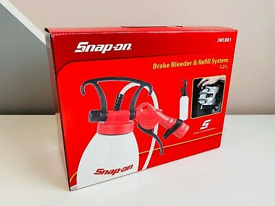 *NEW* Snap On Brake Bleeder & Refill System (1.2 L) JWLBB1