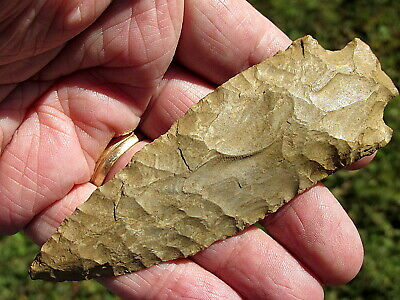 "100% Authentic Tn. 4  3/16 "" Pickwick/Elk River  Indian Arrowhead Artifact"