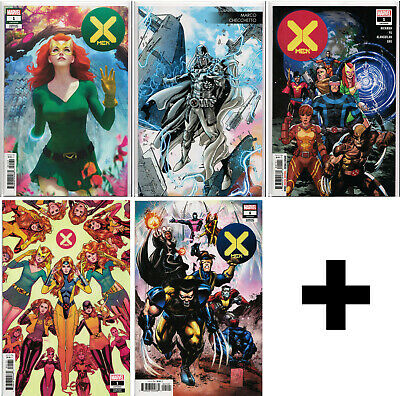 X-MEN #1,2,3,4,5,6,7,8+ (2019) Variant, Incentive, Exclusive ~ HOT MARVEL COMICS